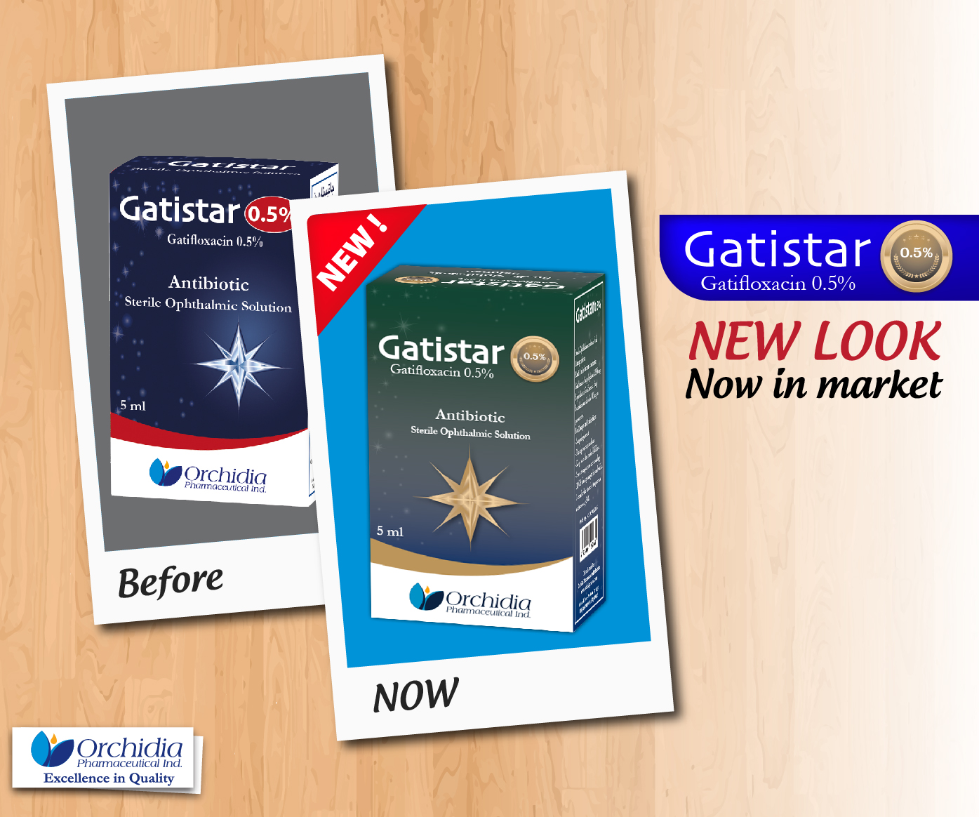 Gatistar 0.5%   new look