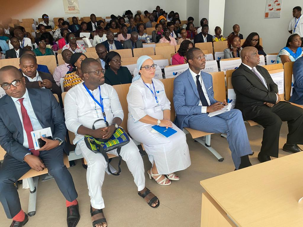 Orchidia's participation in the 2nd international conference of the Gabonese Society of Ophthalmology.