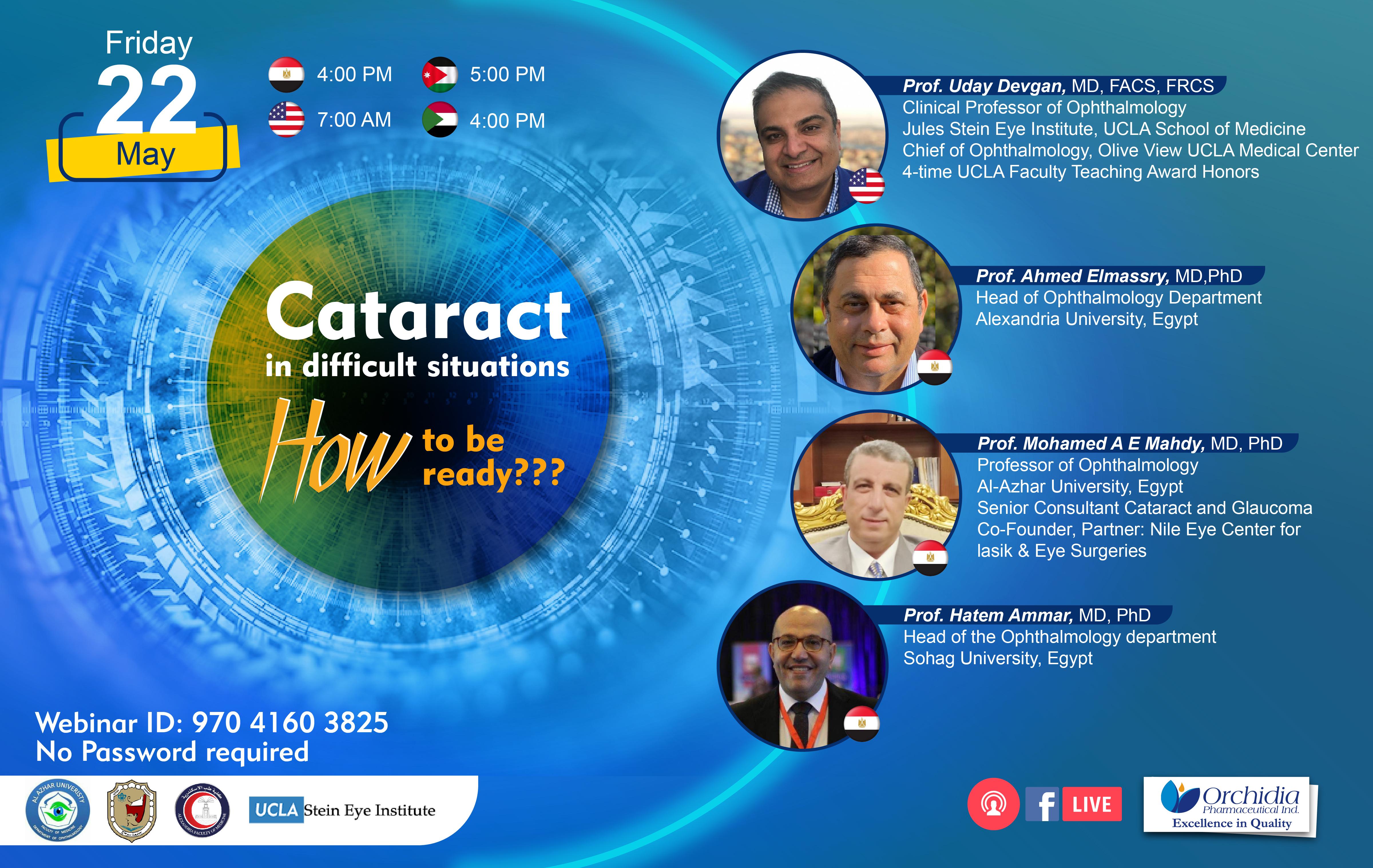 International Live Webinar invitation
