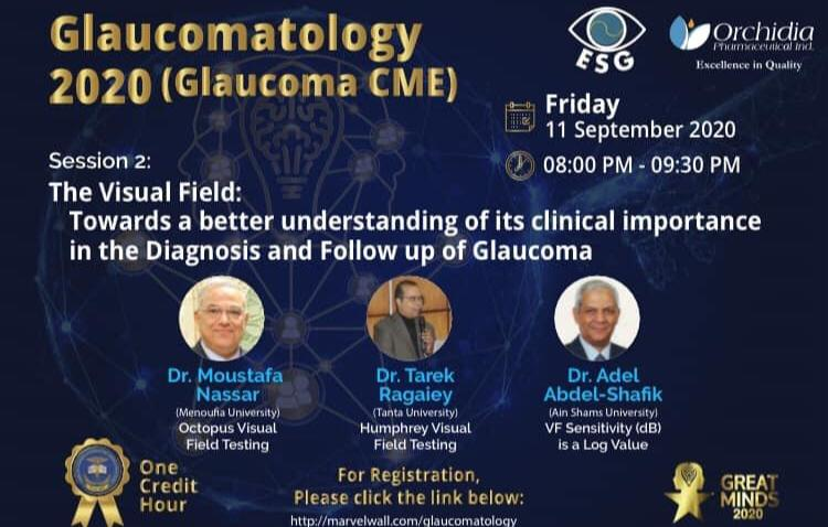 The second session of Glaucomatology 2020( Glaucoma CME)