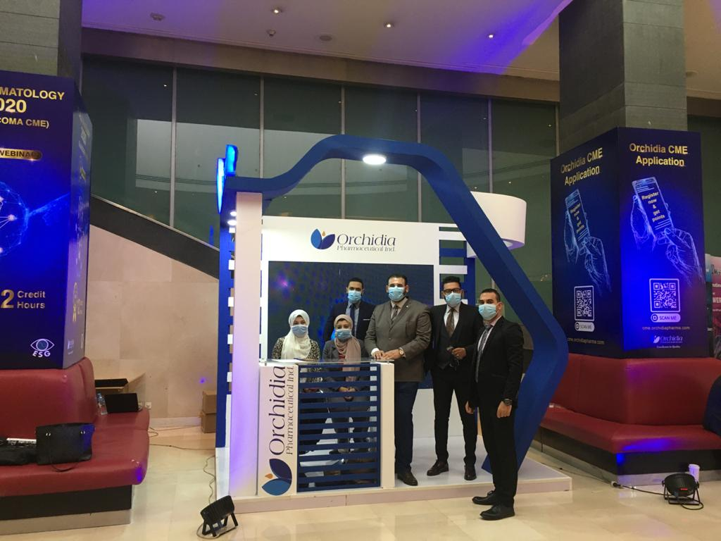 Orchidia's participation in the 20th annual congress of the Egyptian Society for the Glaucomas.
